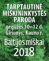 Paroda Baltijos miškai 2018